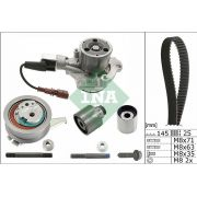 kit de courroie distribution + Pompe à eau Audi A3 A4 A5 A6 Q2 Q3 Q5 TT 2.0 TDi