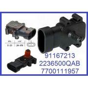 Capteur de pression du tuyau d'admission Renault 1.5 DCI + 1.9 Dci + Dti + Opel Dti